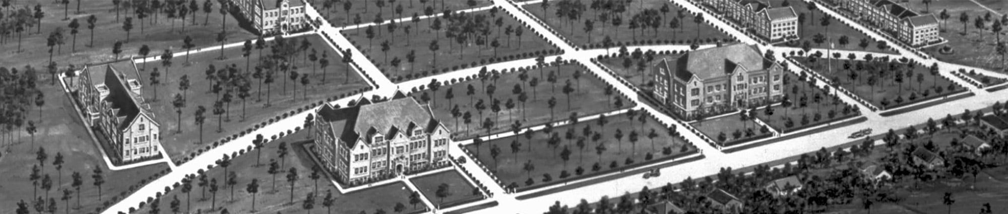 University of Florida Historical Layout