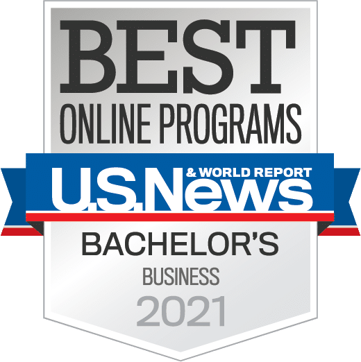Best Online Programs U.S. News and World Report - Bachelor's Business 2021