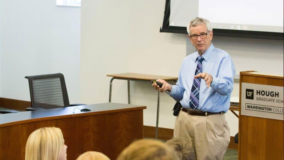 Dr. Wayne Archer teaching class
