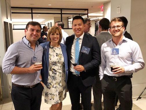 Gator Finance Professionals Network Reception in New York City