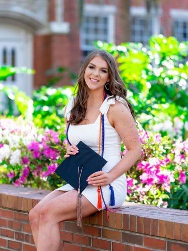 Ashely Isom graduation photo