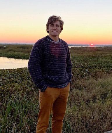 Joseph Kersanac at sunrise