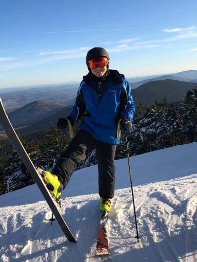 Michael Weissman snow skiing