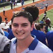 Ronald Smith in the Florida stadium