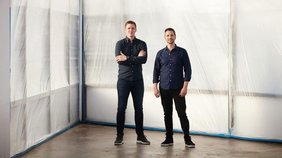 Archer Aviation founders Adam Goldstein (BSBA '01) and Brett Adcock (BSBA '08)
