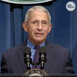 Dr. Fauci speaking on June 26