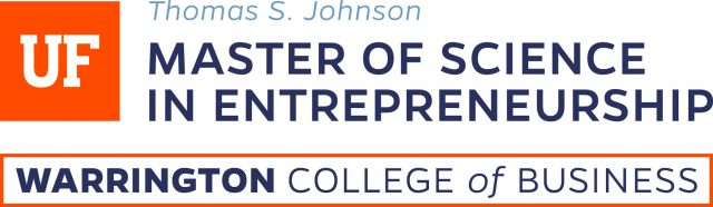 Thomas S. Johnson Master of Science in Entrepreneurship, Warrington College of Business