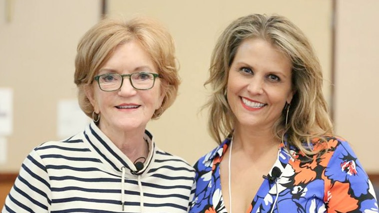 Barbara Baekgaard and Leah Lytle at the 2017 Women's Entrepreneurship Symposium