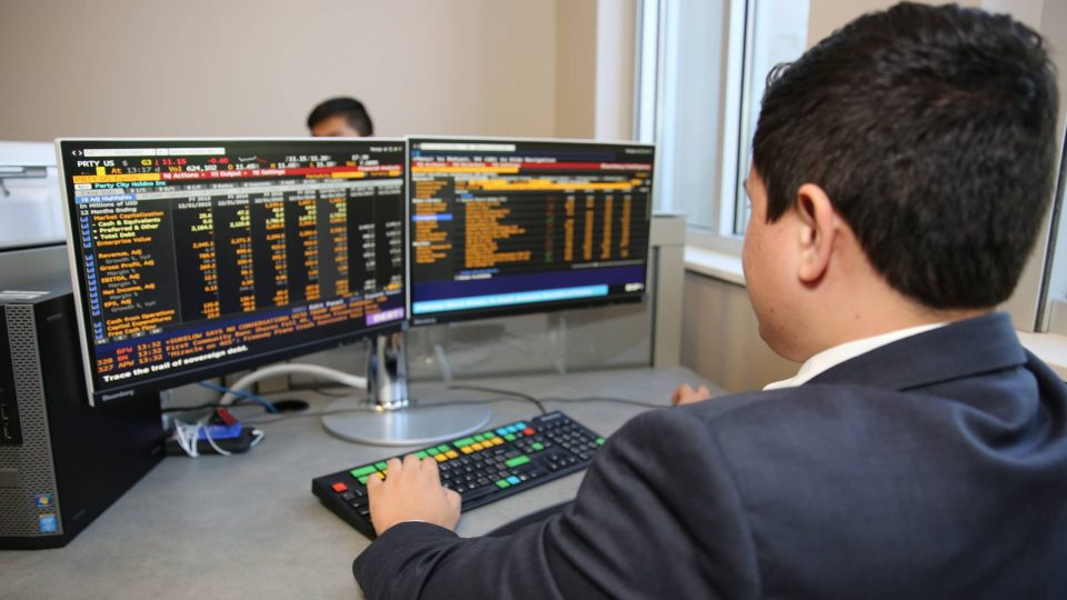 GSIF student in Capital Markets Lab
