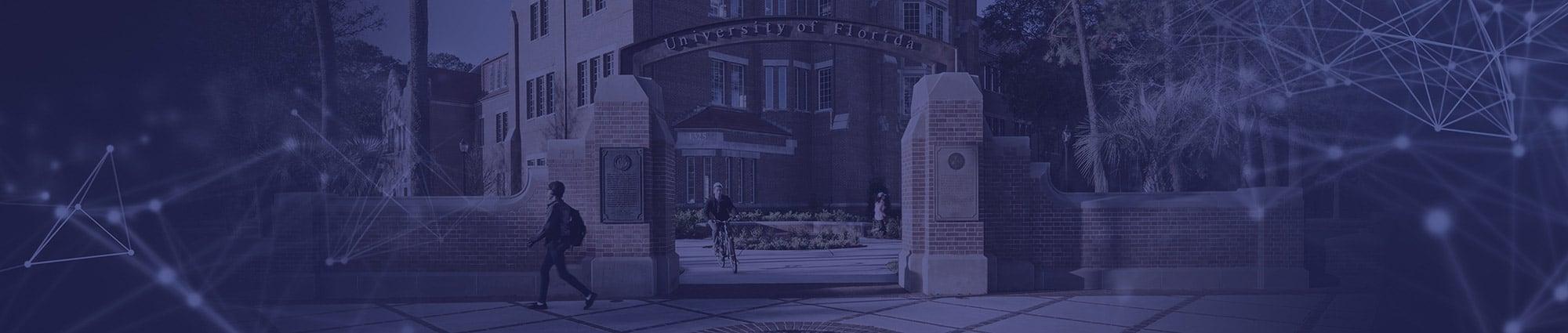 University of Florida Northeast Gateway by Heavener Hall