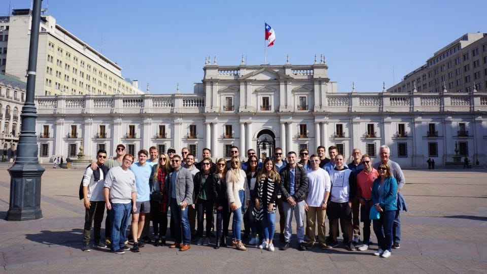 MSRE students in Santiago, Chile