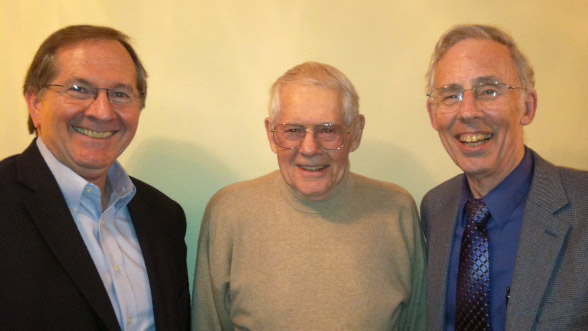 Dr. Mark Jamison, Dr. Eugene F. Brigham, and Dr. Sanford Berg