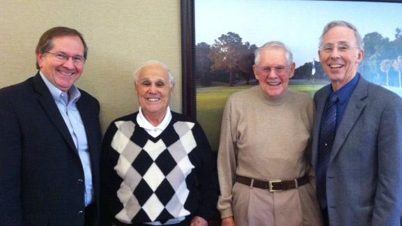 Dr. Mark Jamison, Dr. Robert F. Lanzillotti, Dr. Eugene F. Brigham, and Dr. Sanford Berg