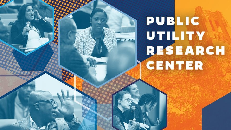 Public Utility Research Center various activities