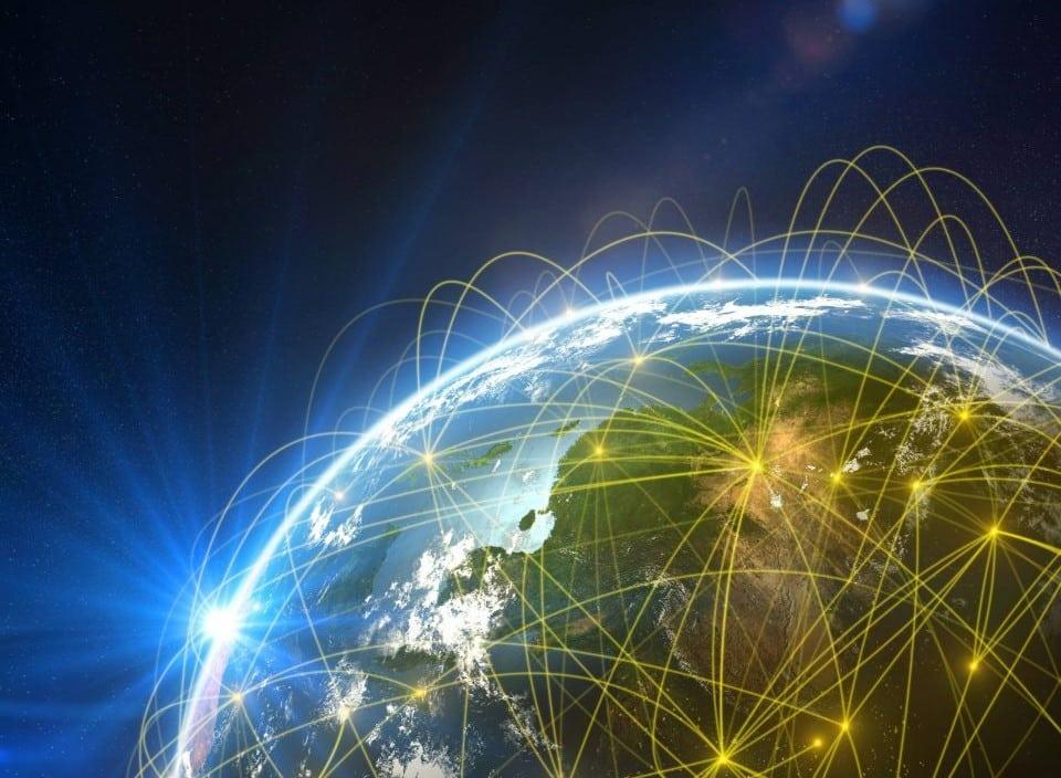 Public Utility Research Center, virtual program globe image