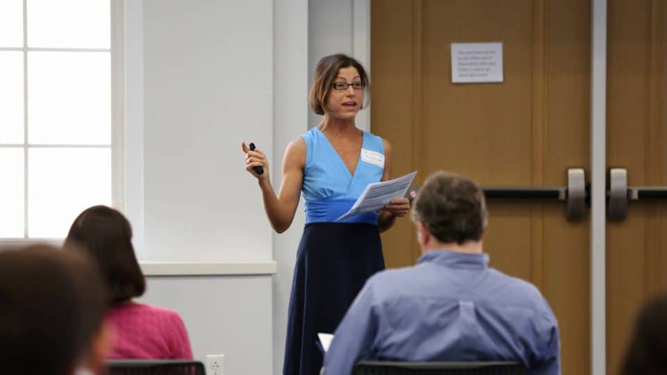 UF Business for Good Lab: Sustainable Business Consulting for B Corp certification with Kristin Joys speaking in Spring 2019