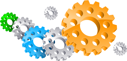 Graphical representation of gears