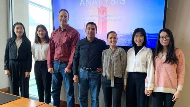 Experiential Learning Program, Jabil Supply Chain Management team
