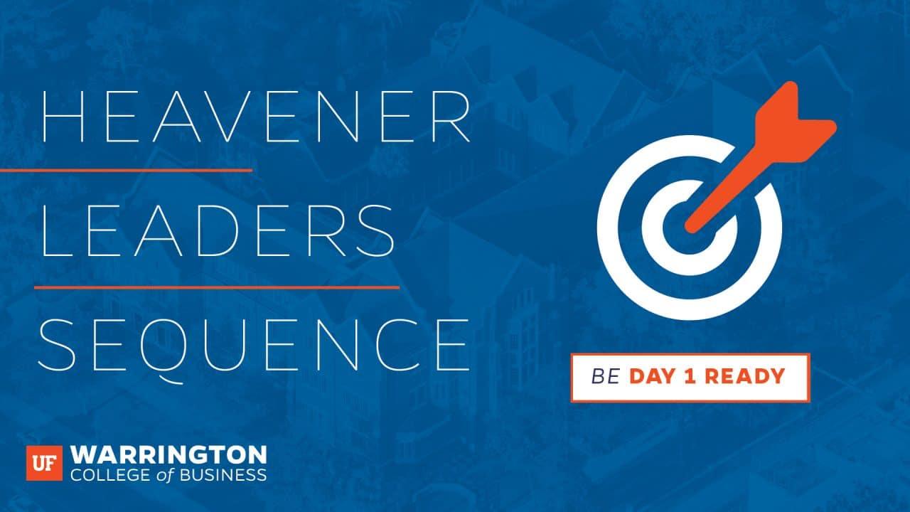 Heavener Leaders Sequence Graphic