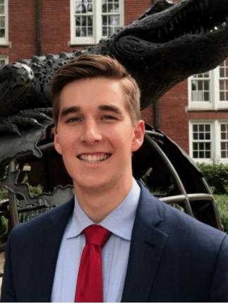 Daniel Sweeney university scholars recipient