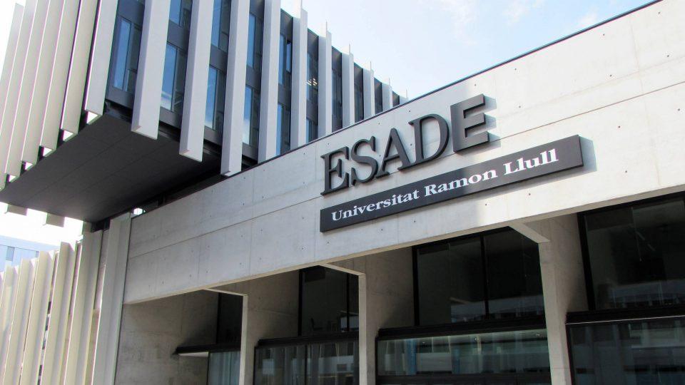 ESADE building in Barcelona, Spain