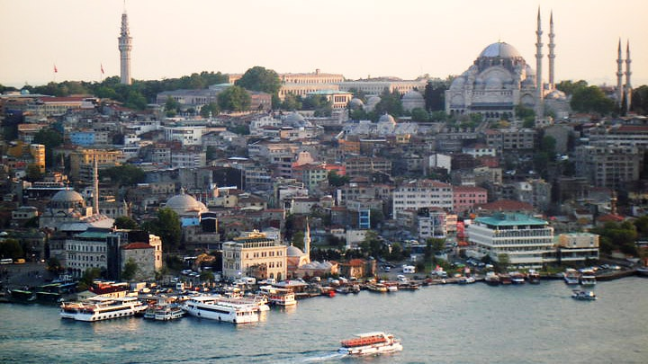 The city of Istanbul, Turkey