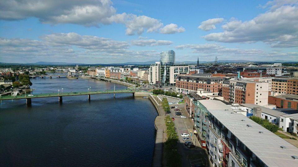 The city of Limerick, Ireland