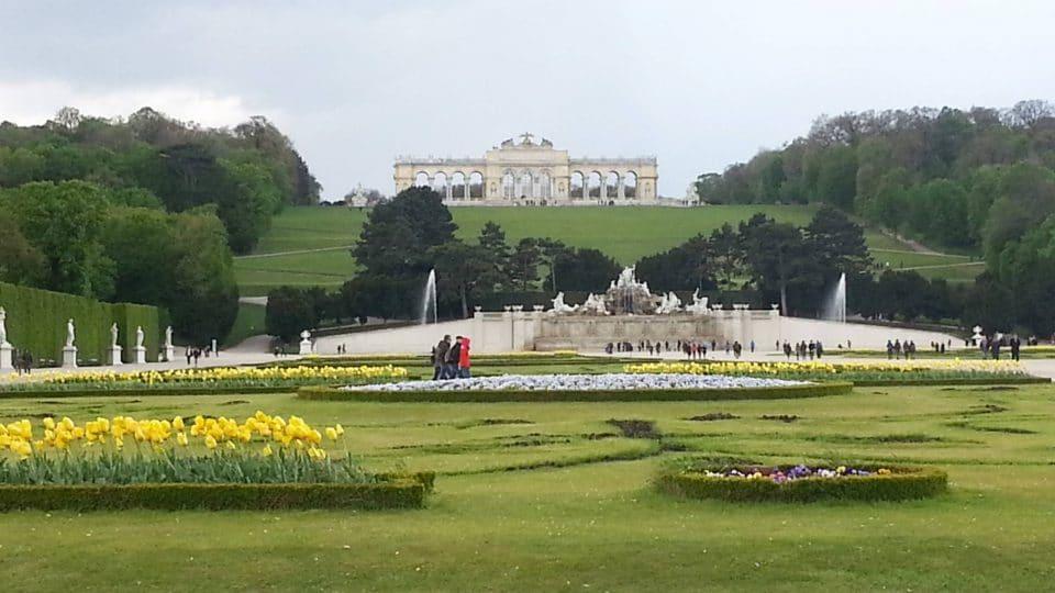 Schonbrunn Garden, Vienna, Austria