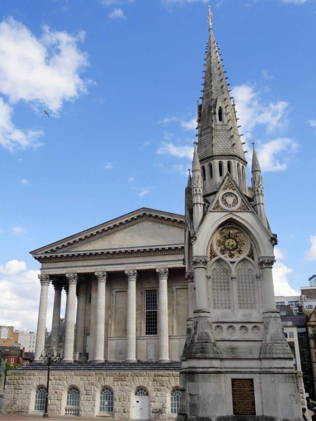 Town Hall in Chamberlain Square, Birmingham, England