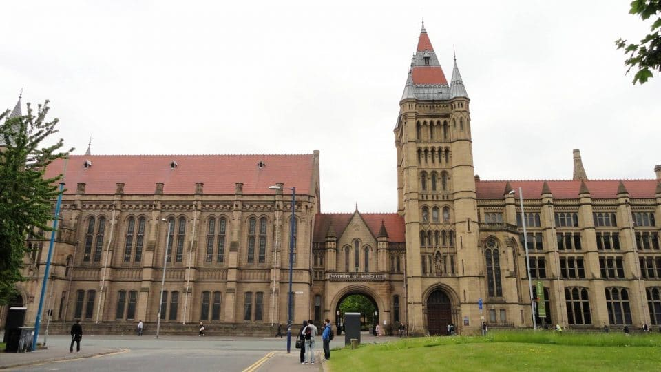 University of Manchester in England