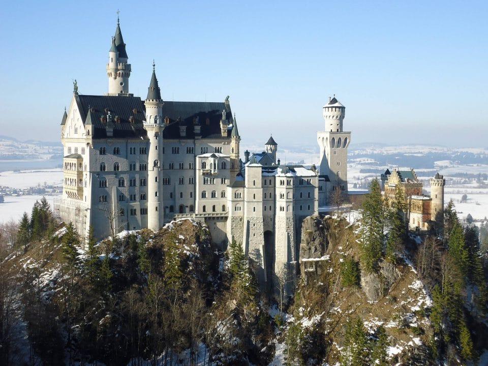 Neuschwanstein Castle in Munich, Germany