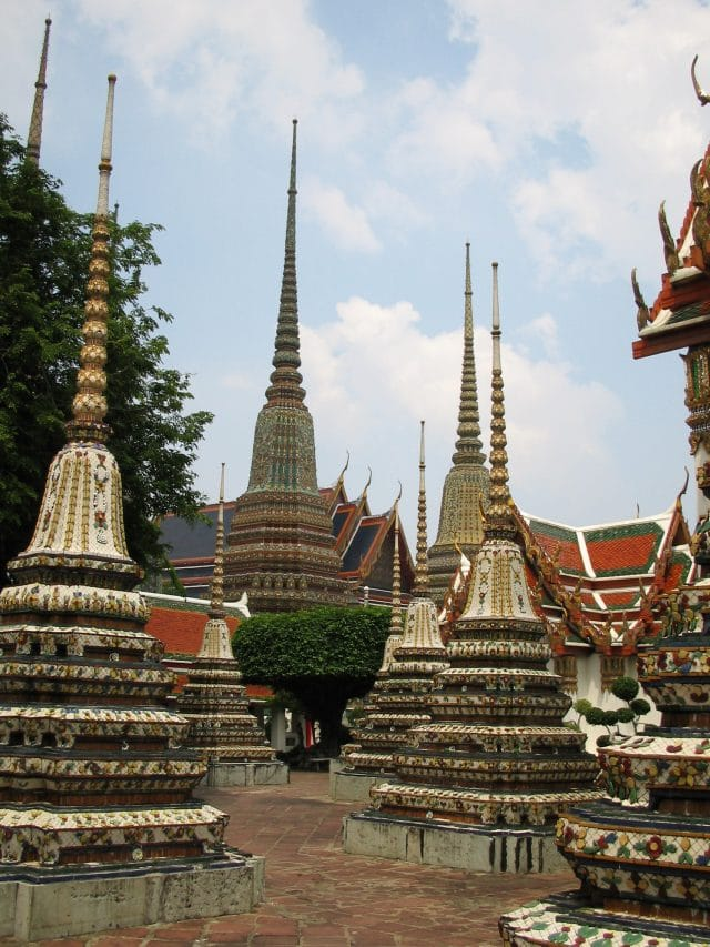 Temple of the Emerald Buddha in Bangkok, Thailand