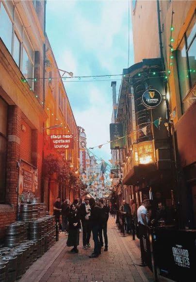 Dublin Cityscape Temple Bar
