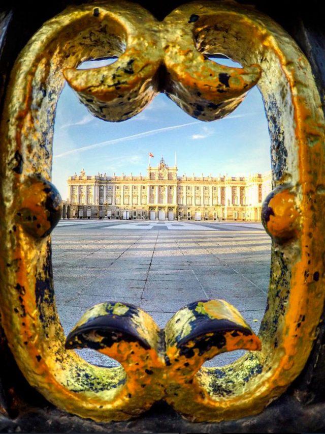 Palacio Real in Madrid, Spain